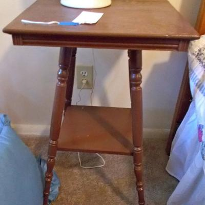 Antique table $65