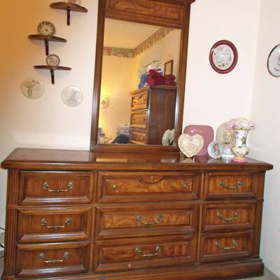 Dresser with Mirror $265