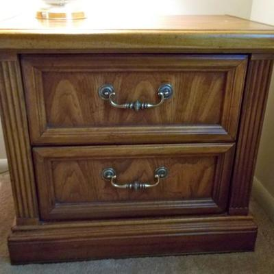Two drawer night stand $55 two available
