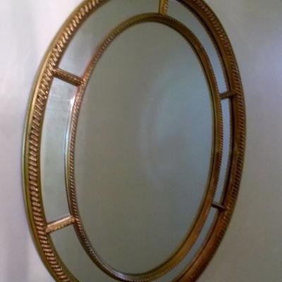 Oval Carolina mirror $150