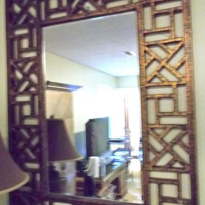 Chinese gilded mirror $450
