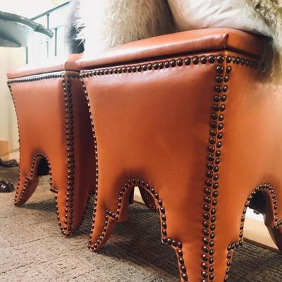 Terracotta Empire storage stool. $95 each.