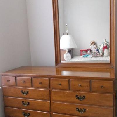 Dresser with mirror $99