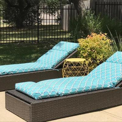 Lounge chairs with seat pillows. $75 each.
