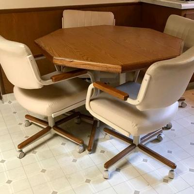 Mid Century Kitchen Dining table with 1 18