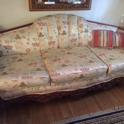 1920's-30's Carved Sofa