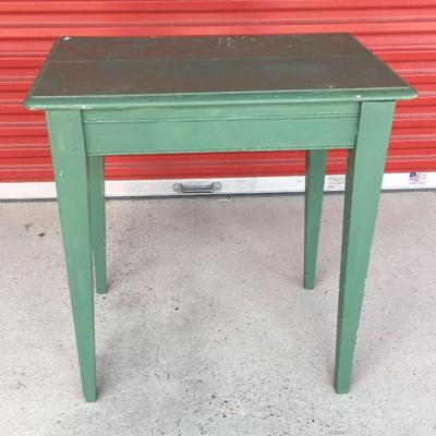 Green Distressed Green Side Wooden Side Table DN8006 Local Pickup https://www.ebay.com/itm/113283963914