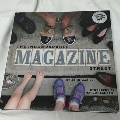 The Incomparable Magazine Street John T. Magill Signed ISBN 9781941879108 BD8106  https://www.ebay.com/itm/123404999492