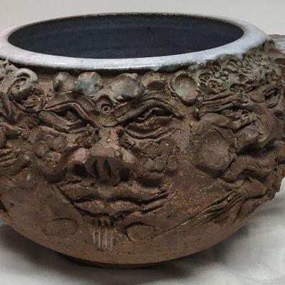 Callic Wood gods Pottery / Earthenware J Goodheart BD8107  https://www.ebay.com/itm/123405342999
