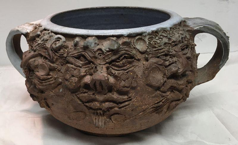 Callic Wood gods Pottery / Earthenware J Goodheart BD8107  https://www.ebay.com/itm/123405342999