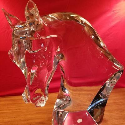Lalique Horse Head