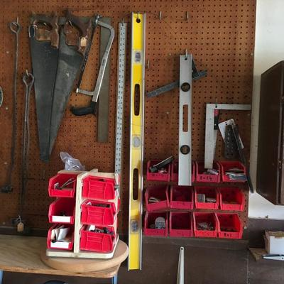 Levels, Saws, Clamps
