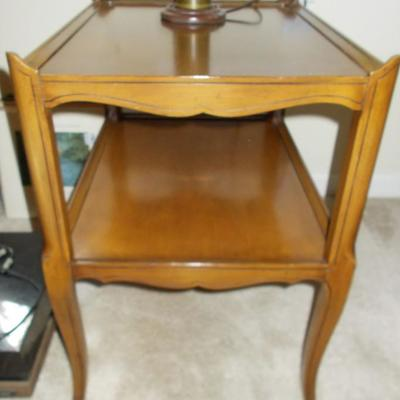 Maple end table $79