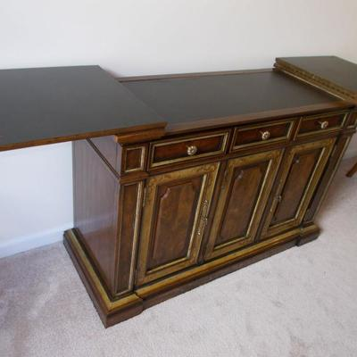 Bar with leaves $245 27 X 16 with leaves 56
