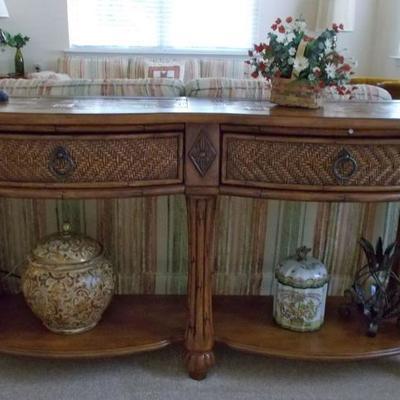 Sideboard/sofa table $$295 58 X 17 1/2