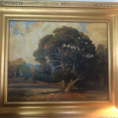Oil painting by listed artist Don Freymuth