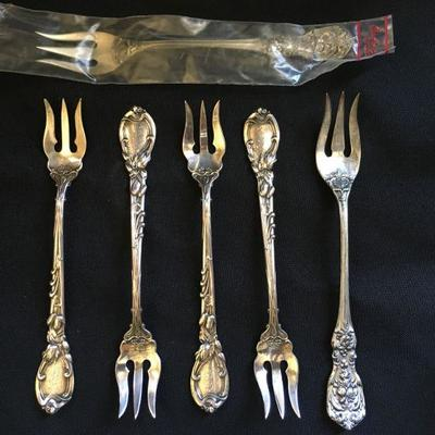 Reed and Barton Sterling Fork Set