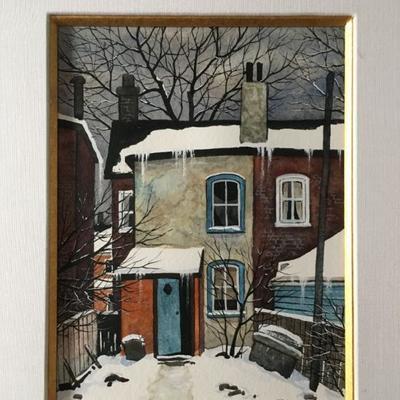 John Kasyn, Oil on Canvas