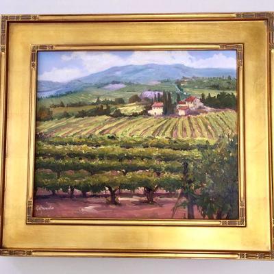 oil painting by Ellie Freudenstein