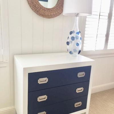 3 drawer chest by Newport Cottages
