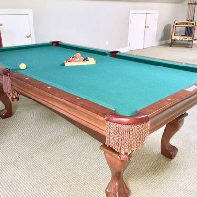 Brunswick Contender 8' pool table ONLY $400.  You must have movers and truck.  Located on the third floor.  Slate top will have to be...