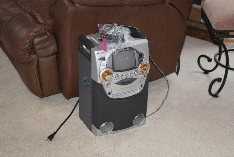 Memorex Karaoke Machine