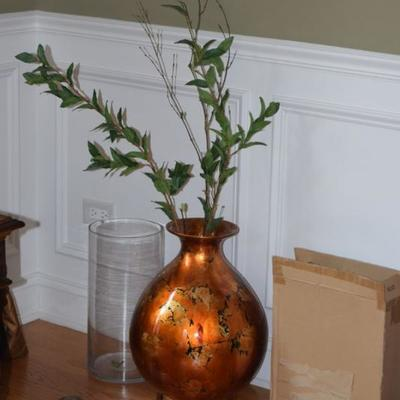Vases & Artificial Greenery