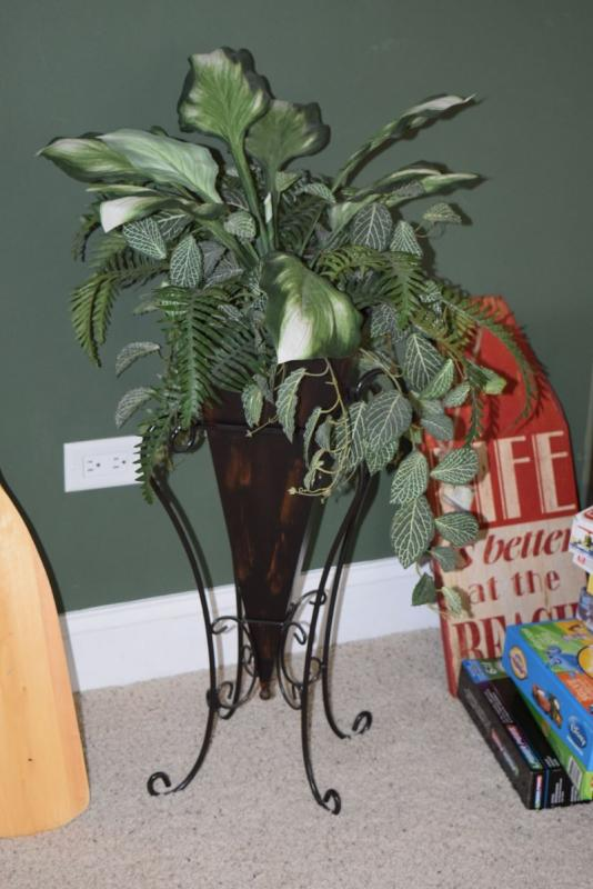 Artificial Greenery in Vase