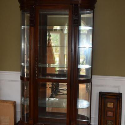 Curio Cabinet & Art