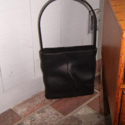 Cast iron basket