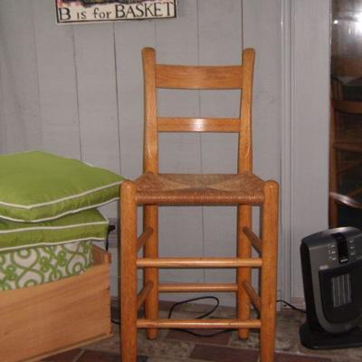 signed Cain chair
