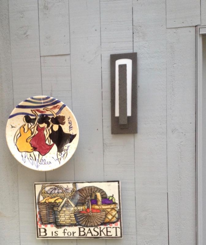 Signed porcelain Italian Wall decor