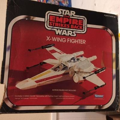 Star Wars: The Empire Strikes Back X-Wing Fighter with Box Kenner RR0506 1978 https://www.ebay.com/itm/113387729766