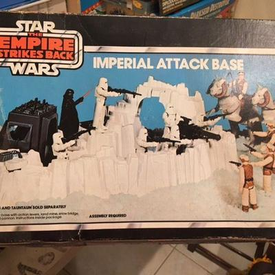 Star Wars: The Empire Strikes Back Imperial Attack Base Kenner RR0509 https://www.ebay.com/itm/113387754810