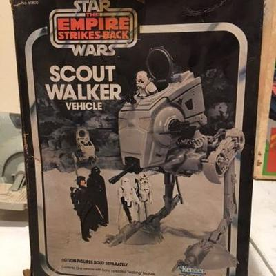 Star Wars: The Empire Strikes Back Scout Walker Vehicle Kenner RR0513 https://www.ebay.com/itm/113387761162