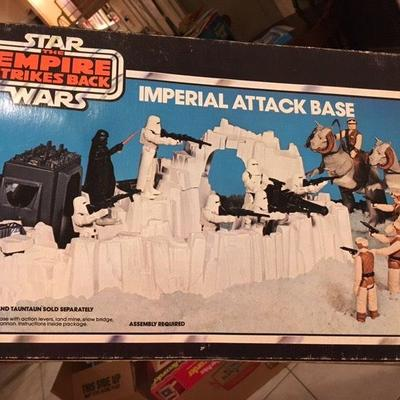 Star Wars: The Empire Strikes Back Imperial Attack Base Kenner RR0508 https://www.ebay.com/itm/113387746448