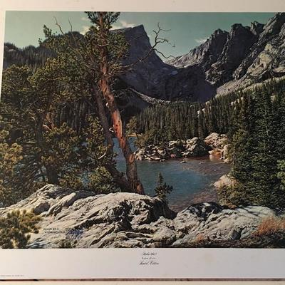 Psalms 90:2 By Larry Dyke LE; Signed; #60/1500
