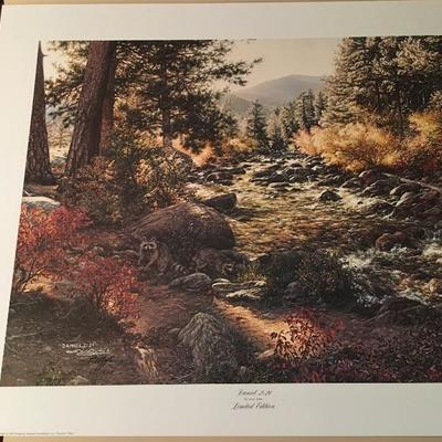 David 2;21 By Larry Dyke LE; Signed; # 60/1500