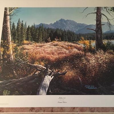 Joshua 2:22 By Larry Dyke LE; Signed; #60/1600