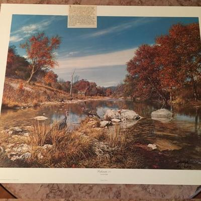 Eccleciastes  By Larry Dyke LE; Signed # 60/1500