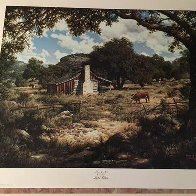 Proverbs 23;10 By Larry Dyke LE; Signed; # 60/1000