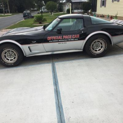 1978 Indy Pace Car