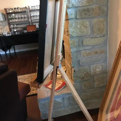 Large wood easel $25