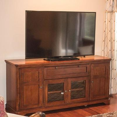 Entertainment console by Winners Only.