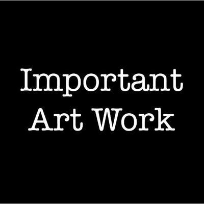 Important art work. Paintings.