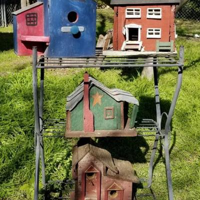 Wooden Bird Houses  -  From $10-$20