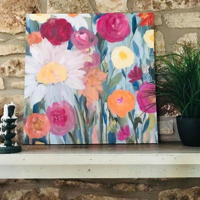 Print in Canvas by Jolina Anthony $45