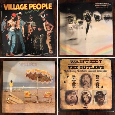 Village People. Rolling Stones Willie Nelson.
