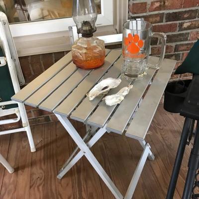 Folding tables $10 each 2 available