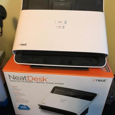Scanner filing system $75